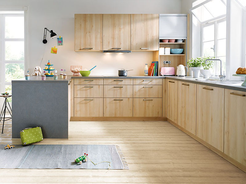 Schuller Kitchens by Russ Deacon | Bari – Castell Beech imitation