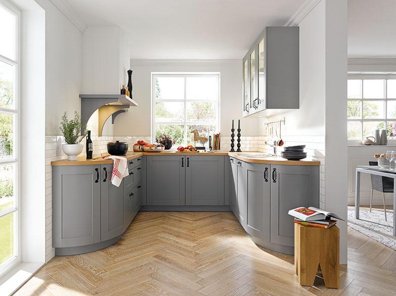 Schuller Kitchens by Russ Deacon   Casa – Agate Grey silk gloss