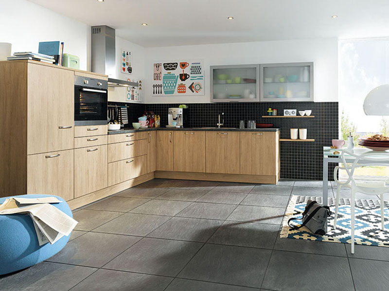 Schuller Kitchens by Russ Deacon | Bari – Ellmau Oak imitation