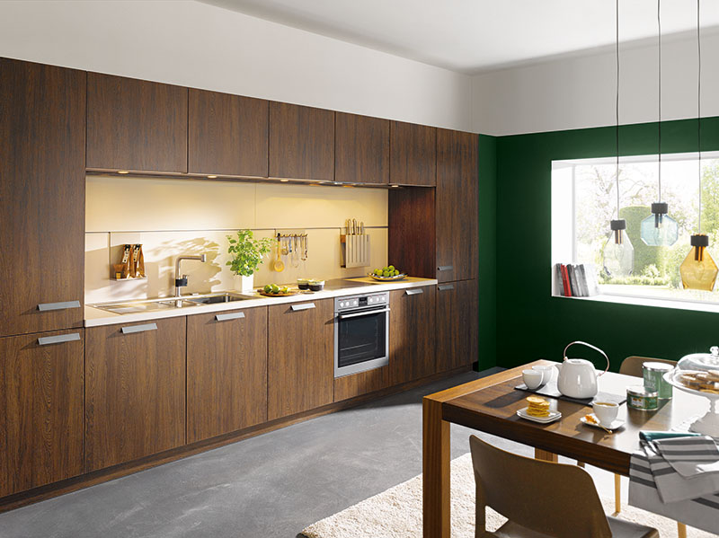 Schuller Kitchens by Russ Deacon | Cremona – Moor Oak imitation