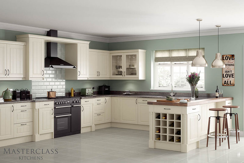 MASTERCLASS KITCHENS BY RUSS DEACON | Auden – Ivory