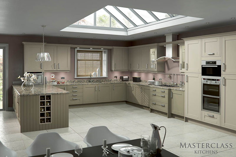 MASTERCLASS KITCHENS BY RUSS DEACON | Buckingham – Olive/Mussel