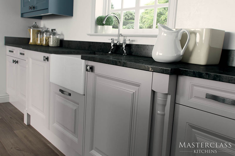 MASTERCLASS KITCHENS BY RUSS DEACON | Howarth drawer pack – Heritage Grey
