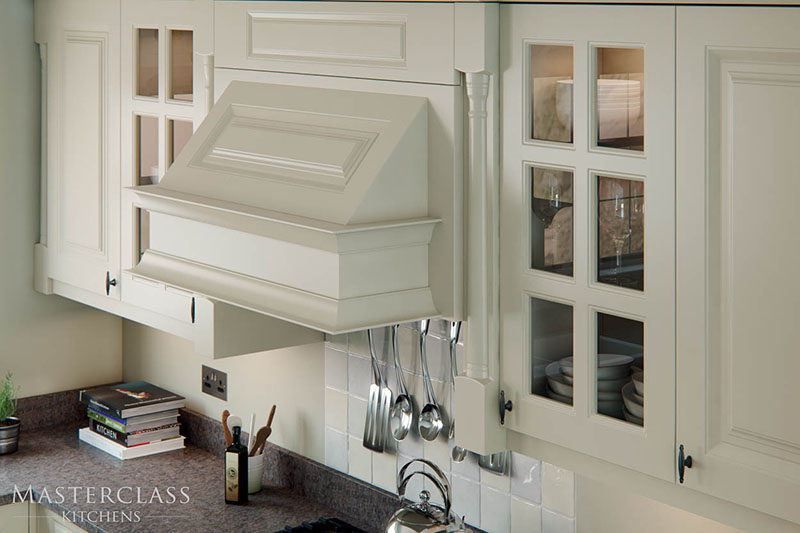 MASTERCLASS KITCHENS BY RUSS DEACON | Howarth feature cooker hood - Ivory