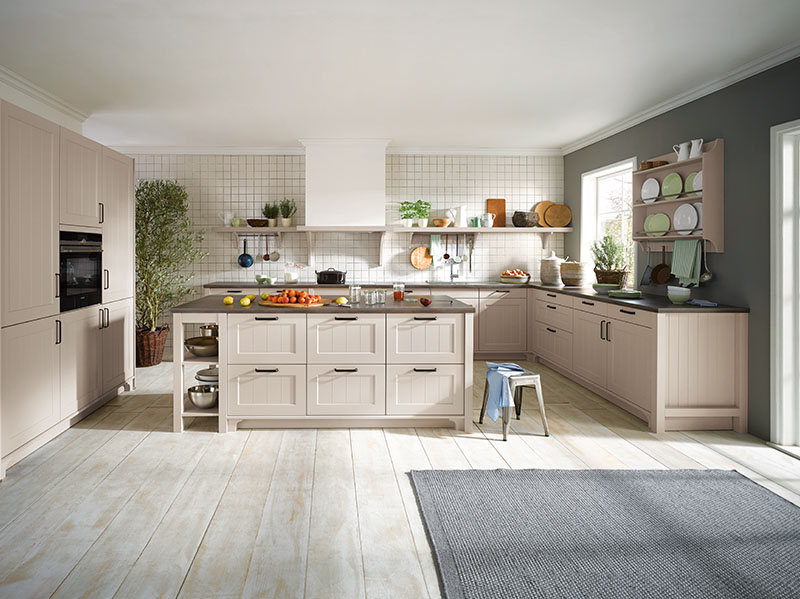 Schuller Kitchens by Russ Deacon | Canto – Champagne satin