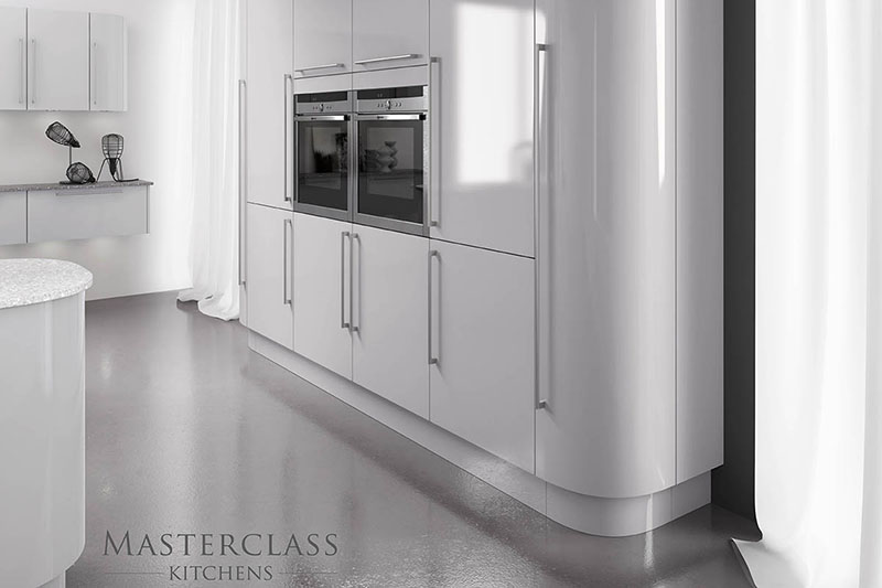 MASTERCLASS KITCHENS BY RUSS DEACON | Sutton – Graphite/Coastal Mist