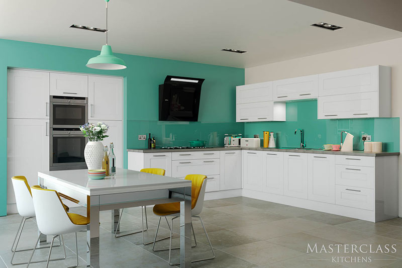 MASTERCLASS KITCHENS BY RUSS DEACON | Seville – White gloss