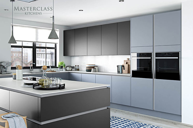 MASTERCLASS KITCHENS BY RUSS DEACON | Nevada Larder – Light grey