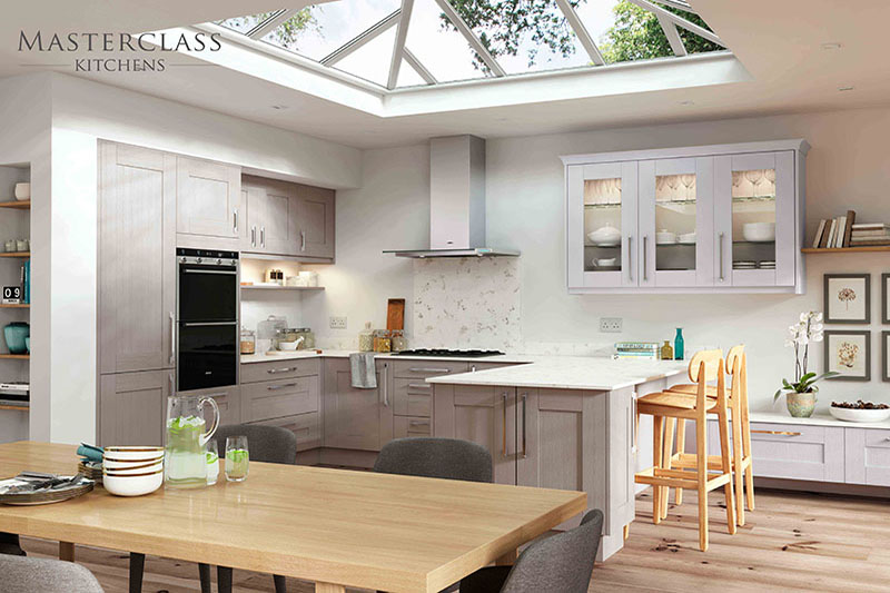 MASTERCLASS KITCHENS BY RUSS DEACON | Wimbourne – Stone grey/Light Grey
