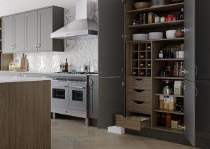 Masterclass Kitchens Chatsworth Shaker Pantry