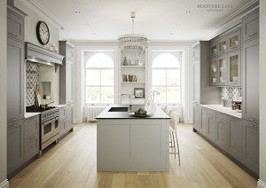 Marlborough Light Grey - Dust Grey
