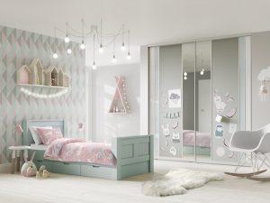 Volante Girls Bedroom