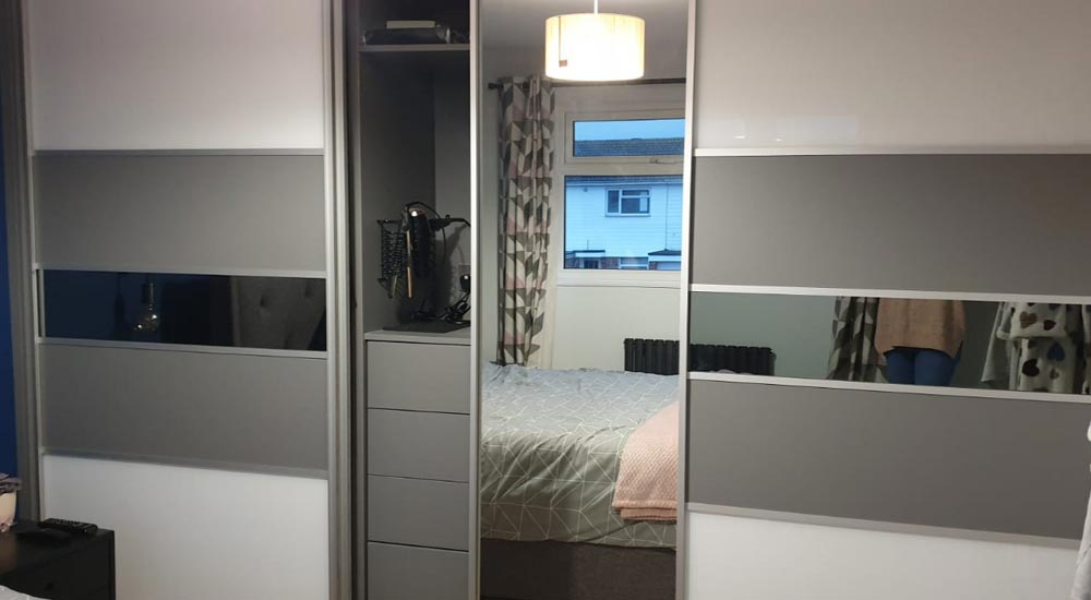 Bedroom & wardrobe improvements Eastbourne
